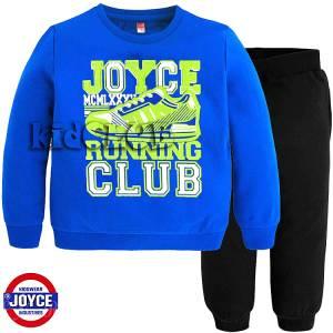 Φόρμα φούτερ αγορίστικη με στάμπα Club Joyce