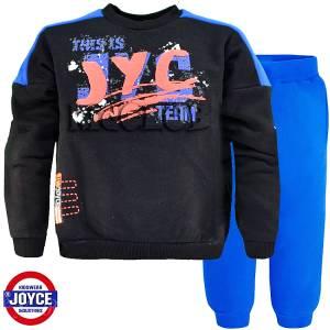 Φόρμα φούτερ αγορίστικη με στάμπα Team Joyce