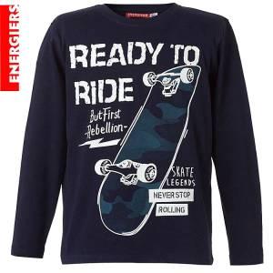 Μπλούζα μακρυμάνικη αγορίστικη με τύπωμα skate Energiers