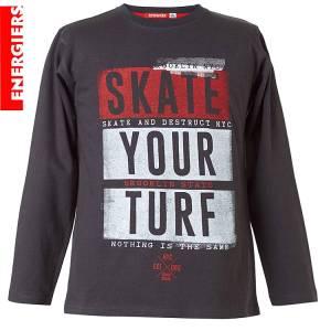 Μπλούζα μακρυμάνικη αγορίστικη με τύπωμα Turf Energiers