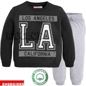 Φόρμα φούτερ αγορίστικη με τύπωμα California Energiers