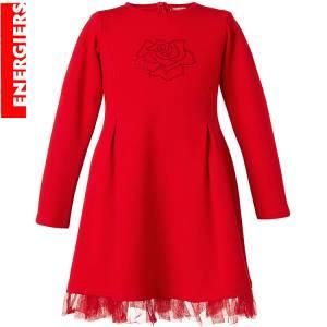 Φόρεμα συνδιασμένο με τούλι κοριτσίστικο Energiers