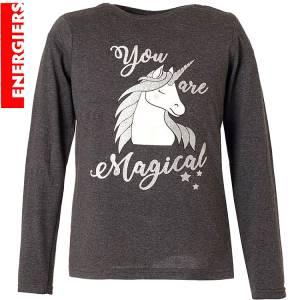 Μπλούζα μακρυμάνικη κοριτσίστικη με τύπωμα Magic Energiers