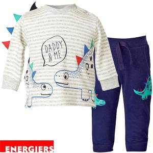 Σετ μπλούζα μακό και φούτερ παντελόνι αγορίστικο Energiers