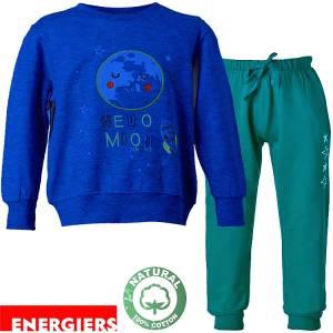 Φόρμα φούτερ αγορίστικη με τύπωμα Sky Energiers