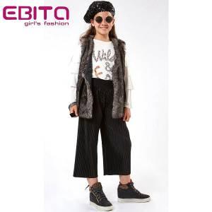 Σετ κορίτσιστικο με παντελόνα και μπλούζα EBITA