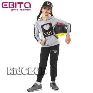 Φόρμα φούτερ κοριτσίστικη Believe EBITA-Evita