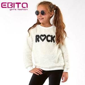 Μπλούζα κοριτσίστικη από ύφασμα προβατάκι Ebita Fashion