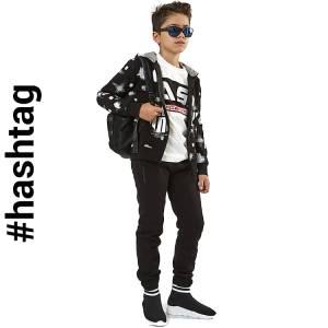 Φόρμα φούτερ αγορίστικη με τύπωμα Play 3 Τεμάχια Hashtag