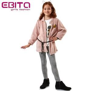 Σετ κοριτσίστικο με ζακέτα προβατάκι 3 Τεμάχια Ebita fashion