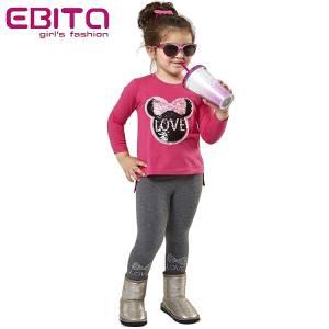 Σετ με κολάν κοριτσίστικο με πούλιες Μίννι EBITA-Evita