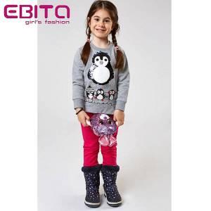 Φόρμα φούτερ κοριτσίστικη Winter EBITA-Evita