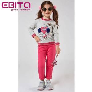 Φόρμα φούτερ κοριτσίστικη Music EBITA-Evita