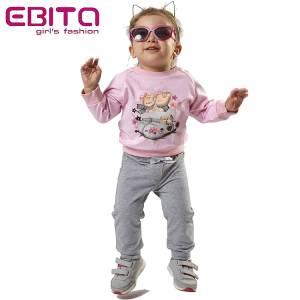 Φόρμα φούτερ κοριτσίστικη Shoes EBITA-Evita