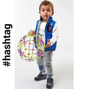 Σετ αγορίστικο με αμάνικο τζάκετ 3 Τεμάχια Hashtag