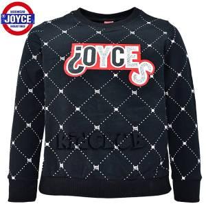 Μπλούζα φούτερ με μακρύ μανίκι κοριτσίστικη με τύπωμα Joyce