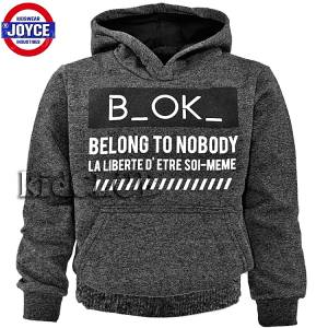 Μπλούζα φούτερ με μακρύ μανίκι αγορίστικη με τύπωμα Bok Joyce