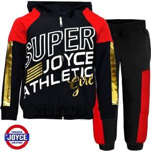 Φόρμα για κορίτσι με τύπωμα Super Joyce