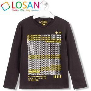 Μπλούζα μακρυμάνικη αγορίστικη με τύπωμα Work Losan