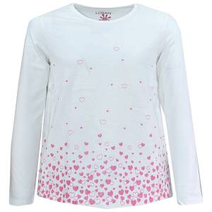 Μπλούζα μακρυμάνικη κοριτσίστικη με τύπωμα Sky Losan