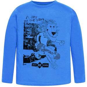 Μπλούζα μακρυμάνικη αγορίστικη με τύπωμα Park Losan