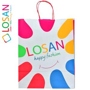 Συσκευασία δώρου, με το λογότυπο της  LOSAN