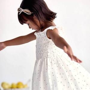 Φόρεμα κορίτσι σταμπωτό φωλιά μέλισσα Mayoral