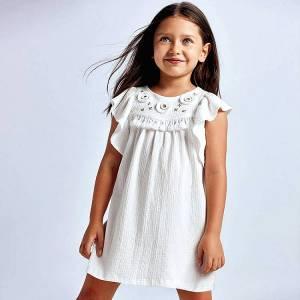 Φόρεμα κορίτσι κεντητό Mayoral