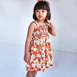 Φόρεμα κορίτσι σταμπωτό Mayoral