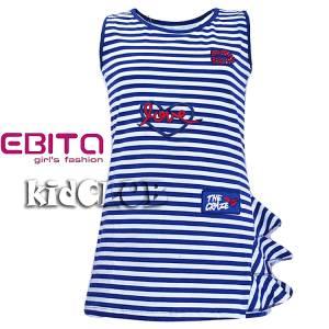Φόρεμα σταμπωτό με ελαστικότητα EBITA