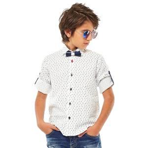 Πουκάμισο με μακρύ μανίκι για αγόρι Hashtag