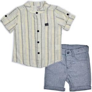 Σετ αγορίστικο με πουκάμισο 2 Τεμάχια Bebus