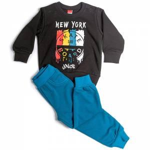 Φόρμα φούτερ αγορίστικη με στάμπα skate Joyce