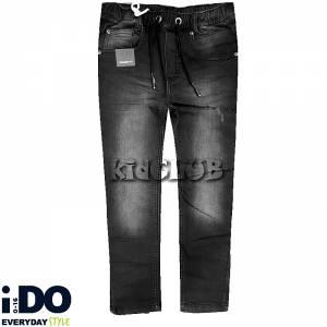 Παντελόνι τζιν μακρύ με λάστιχο στη μέση για αγόρι IDO
