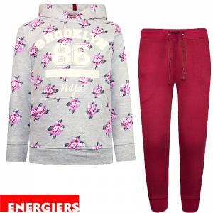 Φόρμα για κορίτσι σταμπωτή brooklyn Energiers