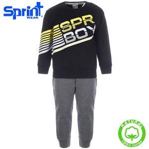 Φόρμα φούτερ αγορίστικη με τύπωμα SPR BOY Sprint
