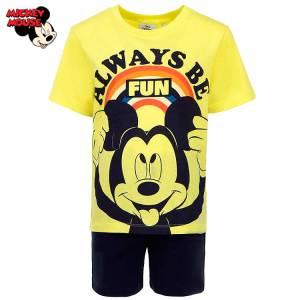 Πιτζάμα αγόρι σταμπωτή Mickey Mouse