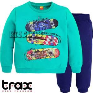 Φόρμα ψιλή βαμβακερή τύπωμα new TRAX