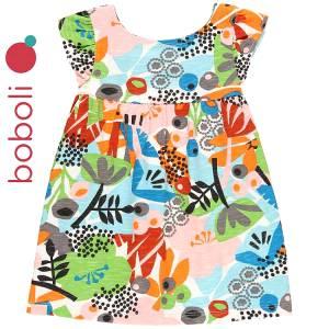 Φόρεμα σταμπωτό με ελαστικότητα Boboli