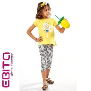Σετ μπλούζα και κολάν κορίτσι σταμπωτό EBITA