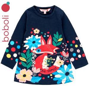 Φόρεμα κοριτσίστικο με τύπωμα Αλεπού Boboli