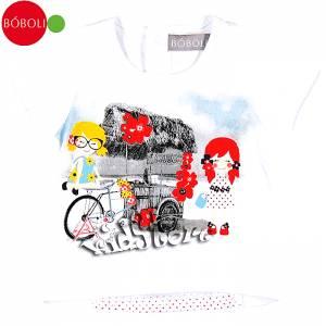 BOBOLI Μπλούζα Παιδική Ποδήλατο
