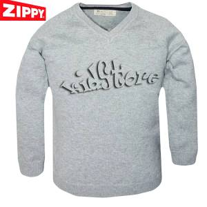 ZIPPY Μπλούζα Λεπτή Πλεκτή Γκρι