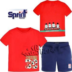 SPRINT Σετ Παιδικό Κοντομάνικο Football Team By Marasil
