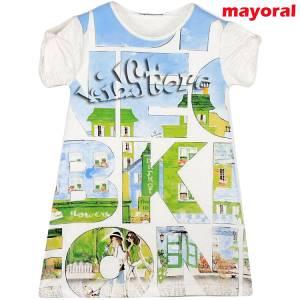 MAYORAL Φόρεμα Παιδικό Στάμπα Πόλη