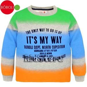 BOBOLI Μπλούζα Για Αγόρια Μακρυμάνικη My Way Μπόμπολι 3a3a61f5f7b