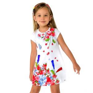 Φόρεμα μακό σχέδιο mini κορίτσι MAYORAL