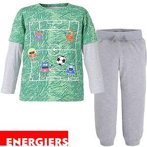 Πιτζάμα αγορίστικη με τύπωμα football ENERGIERS
