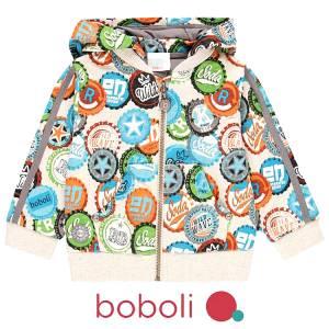 Ζακέτα φούτερ αγορίστικη σταμπωτή Boboli