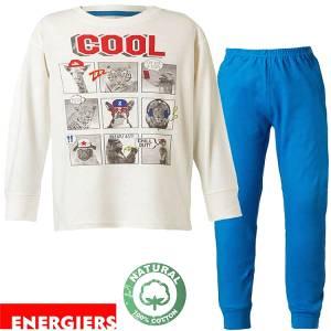 Πιτζάμα αγορίστικη με τύπωμα Cool Energiers